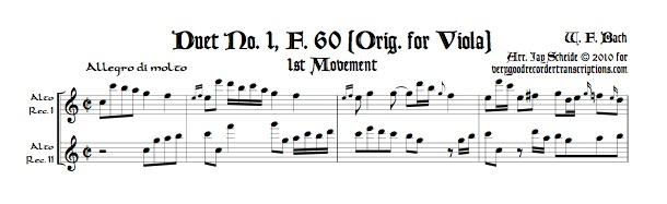 All 3 Viola duets, F. 60-62