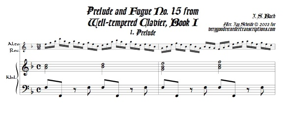 Prélude and Fugue No. 10, BWV 855