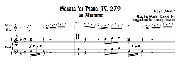 Sonata, K. 279