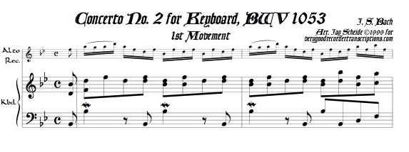 Concerto No. 2, BWV 1053