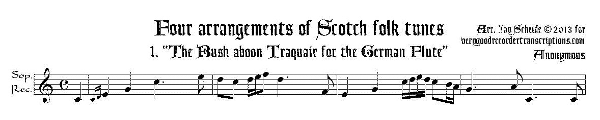 Solo recorder parts from the non-Bach, pre-Mozart composer categories. (Not necessary if you get the versions with keyboard.)