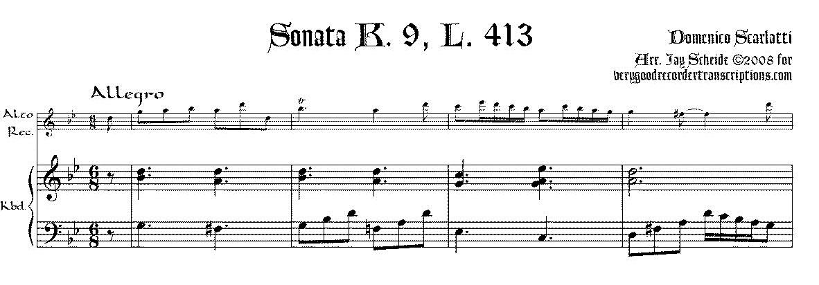 Sonata K. 9, L. 413, P. 65