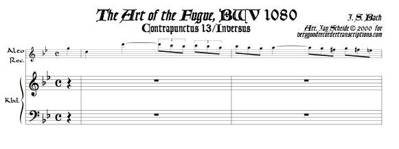 Contrapunctus 13, Inversus