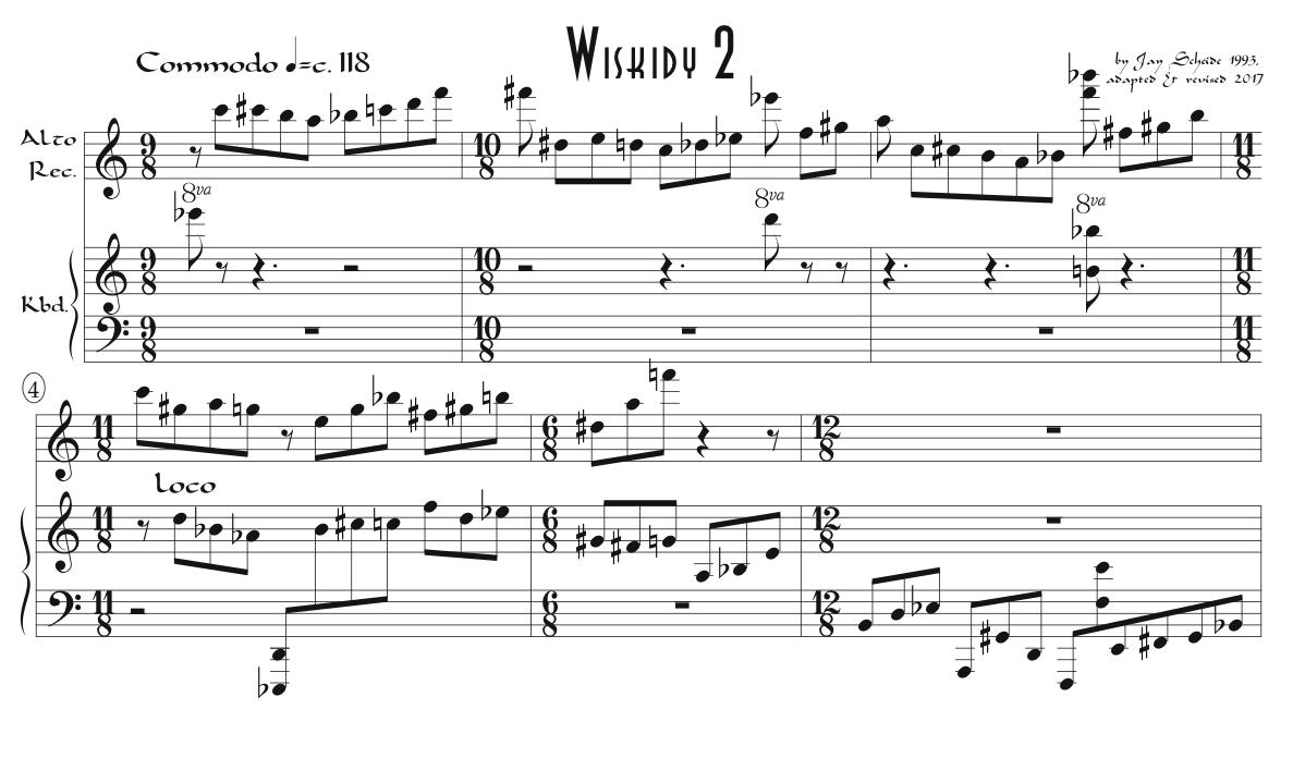 Three Pieces for Recorder & Keyboard