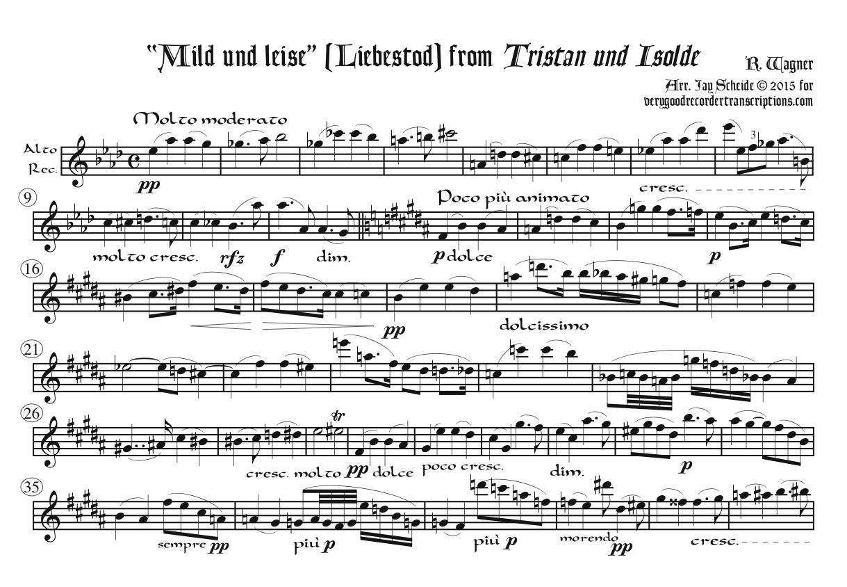 Love-Death from *Tristan und Isolde*